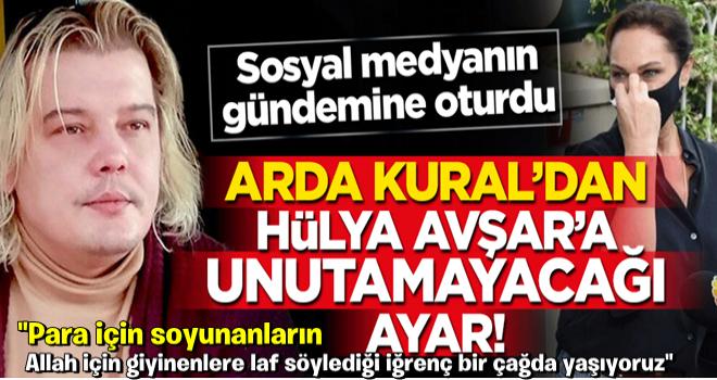 Arda Kural'dan Hülya Avşar'a efsane kapak