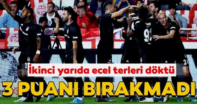 Beşiktaş, Antalya'da 3 puanı aldı