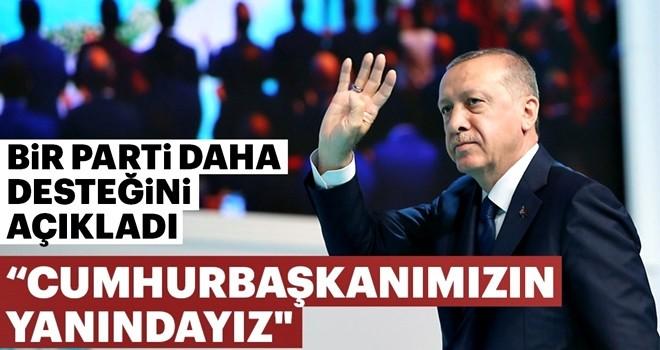 Anavatan Partisi, Cumhur İttifakı'nı ve Erdoğan'ı destekleyecek