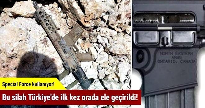 Bu silah Türkiye'de ilk kez orada ele geçirildi!