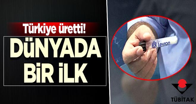 Türkiye üretti! Dünyada bir ilk