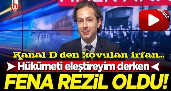 Halk TV spikeri hükümeti eleştireyim derken fena rezil oldu!