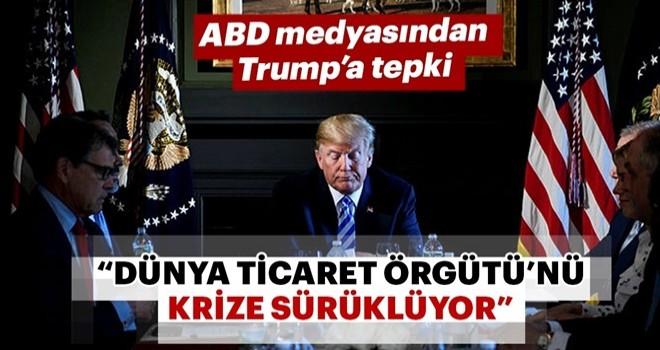 Trump'ın Türkiye kararı ABD'yi de karıştırdı .