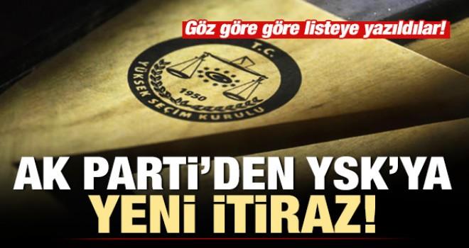 AK Parti'den YSK'ya yeni itiraz