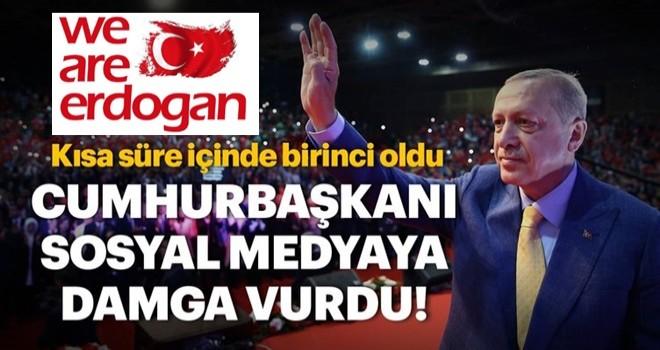 Cumhurbaşkanı Recep Tayyip Erdoğan Twitter'da TT oldu!