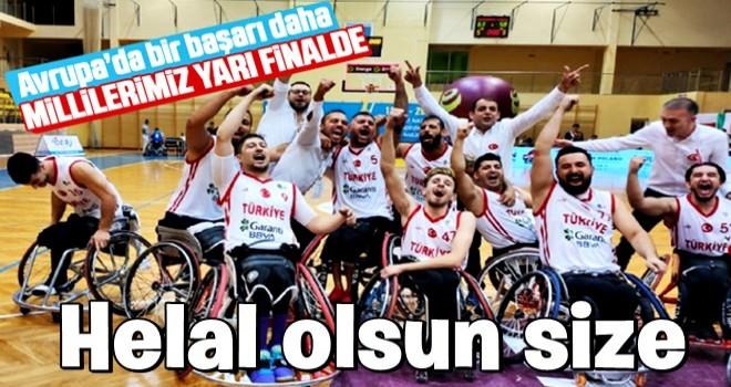 Tekerlekli Sandalye Basketbol Takımı'ndan büyük başarı