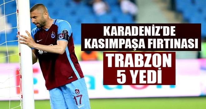 Trabzonspor'a Kasımpaşa darbesi! 5 gol yediler