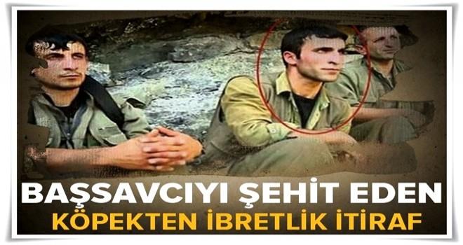 Murat Uzun'u şehit eden teröristten ibretlik itiraf  .