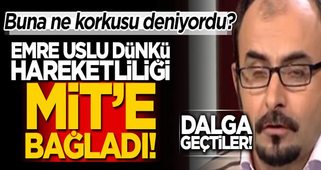 MİT Emre Uslu'yu titretti! Suçu Türkiye'ye atmaya çalıştı