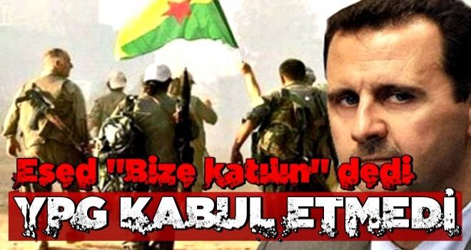 Terör örgütü YPG'den Esed'in Türkiye davetine cevap!