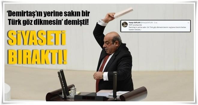 Hasip Kaplan'ın ırkçı tweetine tepkiler büyüyor!