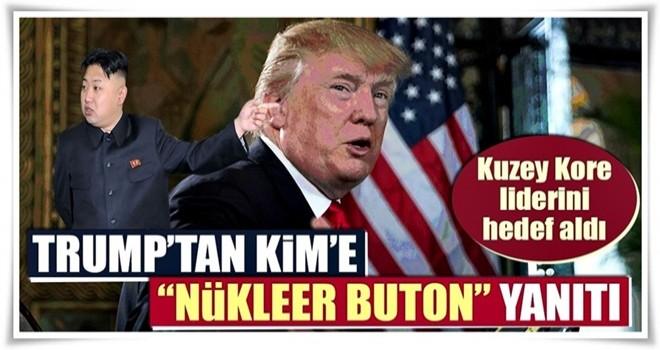 Trump'tan Kim'e