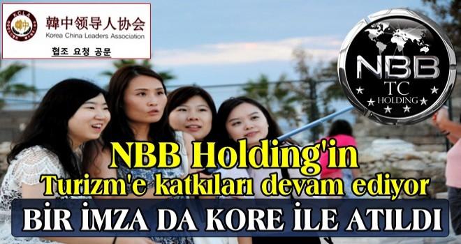 NBB TC Holding, Nijerya'dan sonra KORE ÇİN Liderler Birliği ile de turizm anlaşmasına imza attı..