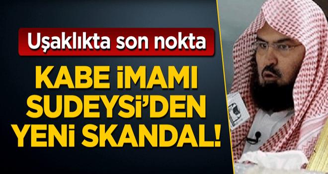Suudi Arabistan'dan ABD uşaklığında son nokta: Kabe imamı Sudeysi'den yeni skandal!
