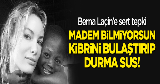 Gamze Özçelik'ten Berna Laçin'e sert tepki: Madem bilmiyorsun, kibrini bulaştırıp durma!