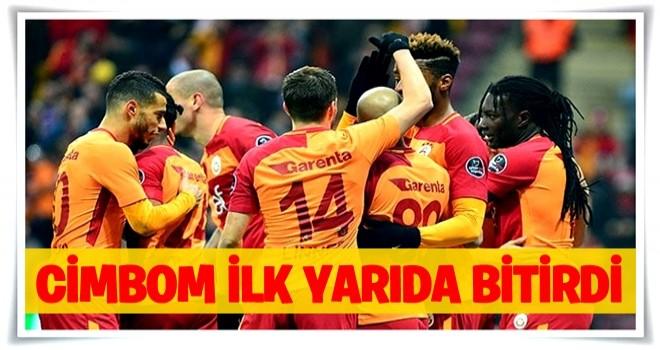 Galatasaray, Antalyaspor'u 3-0 mağlup ederek Süper Lig'de liderliğe yükseldi!