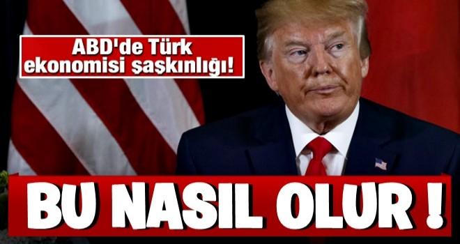 ABD'de Türk ekonomisi şaşkınlığı! 'Bu nasıl olur!'
