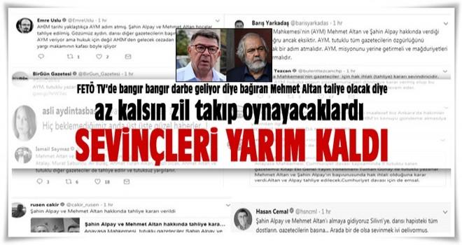 Şahin Alpay ve Mehmet Altan hakkında yeni karar!