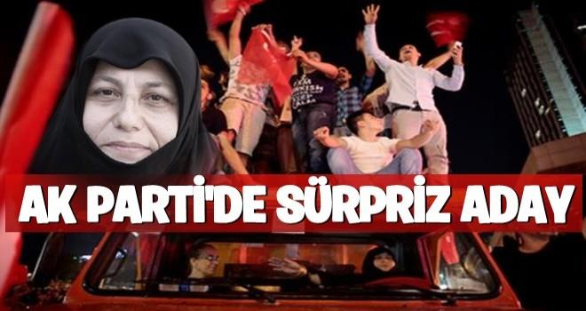 AK Parti'de sürpriz aday!