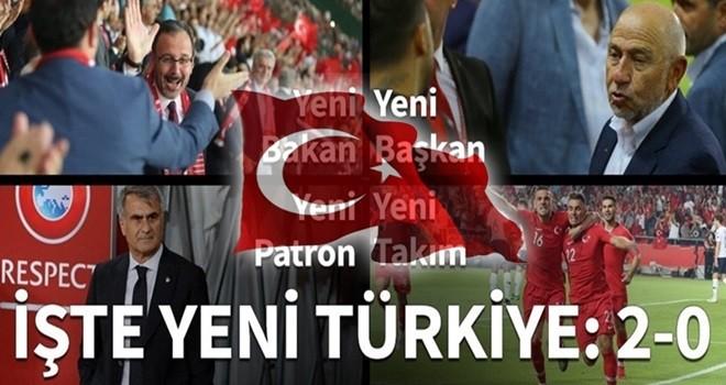 A Milli Takım Konya'da tarih yazdı!