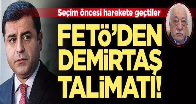 FETÖ'den Demirtaş için talimat!