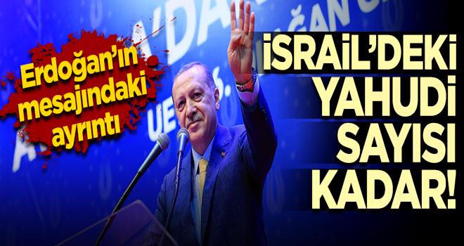 Erdoğan'ın Bosna mesajındaki ayrıntı
