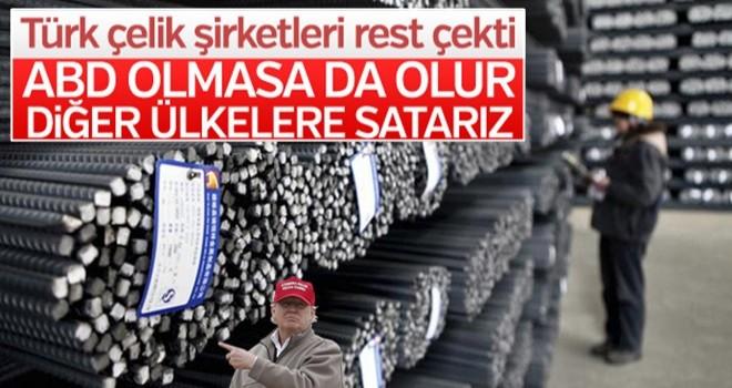 Türk çelik şirketlerinden ABD'ye misilleme