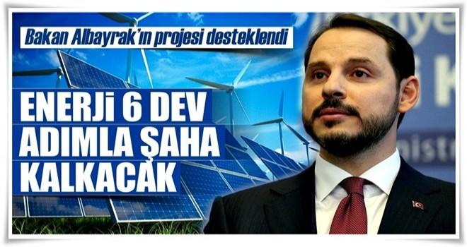 Enerji 6 dev adımla şaha kalkacak