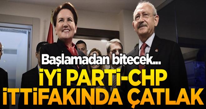 MHP hesabı başlamadan bitecek... İyi Parti-CHP ittifakında çatlak