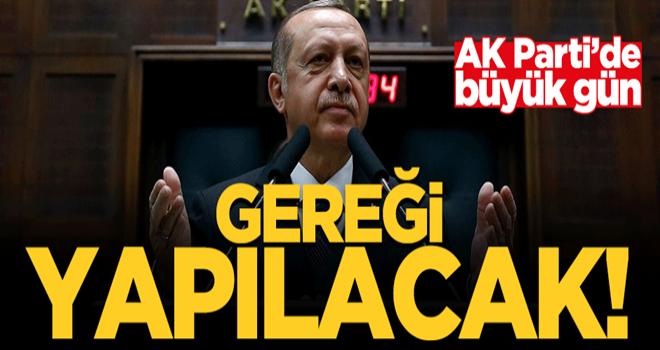 AK Parti grubu toplanıyor! Erdoğan gerekeni yapacak