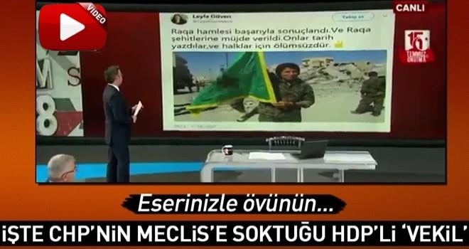 İşte CHP'nin Meclis'e soktuğu 'vekil' Leyla Güven