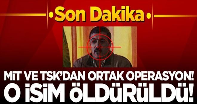 MİT ve TSK'dan ortak operasyon! O PKK'lı öldürüldü