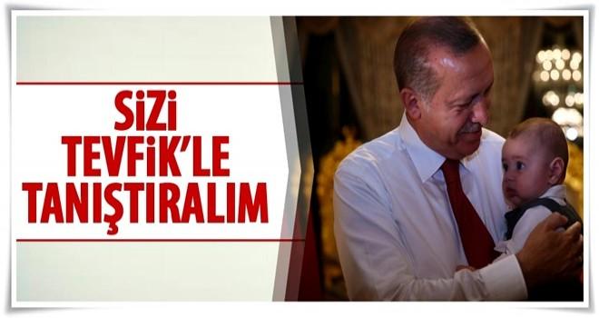 Cumhurbaşkanı Erdoğan'dan 'bebekli' fotoğraf