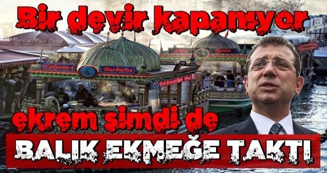 İhtarname gönderildi: İmamoğlu Eminönü'ndeki balıkçılara da el attı!