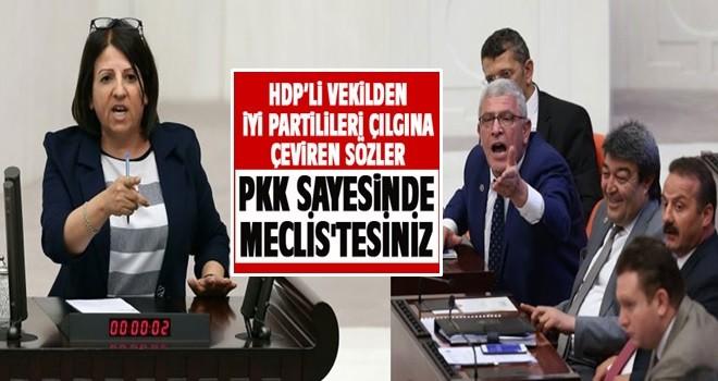 Meclis'te HDP-İyi Parti gerilimi