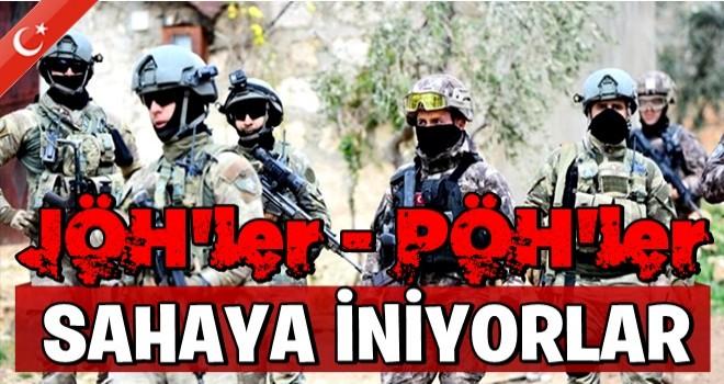 Barış Pınarı Harekatı'nda JÖH ve PÖH'ler sahaya inecek
