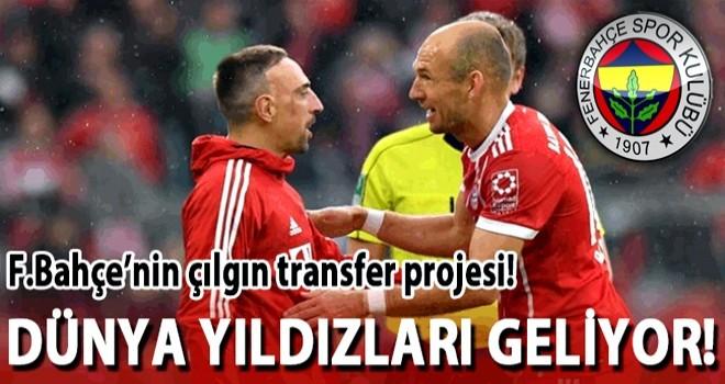 Aziz Yıldırım'ın transfer planı: Robben olmazsa Ribery!