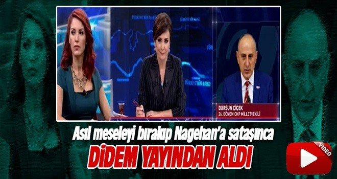 Didem Arslan Yılmaz Dursun Çiçek'i yayından aldı