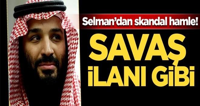 Selman'dan skandal hamle! Savaş ilanı gibi