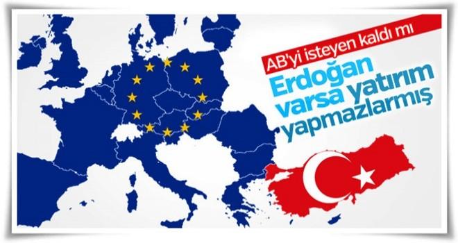 Avrupa Birliği'nden Türkiye'ye küstah tehdit