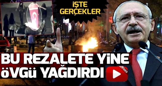 Kılıçdaroğlu'ndan Gezi kalkışmasına övgü üstüne övgü .