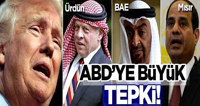 Mısır, Ürdün ve BAE'den ABD'ye Filistin tepkisi