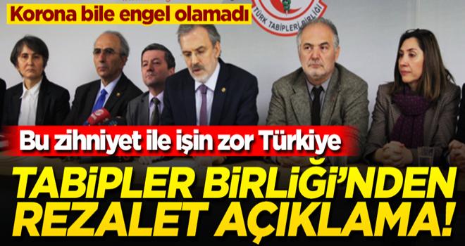 Halen aynı zihniyet! Türk Tabipleri Birliği'nden yerli test kitiyle ilgili rezalet açıklama