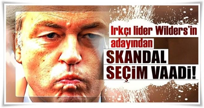 Wilders'in adayından camileri yakma vaadi!