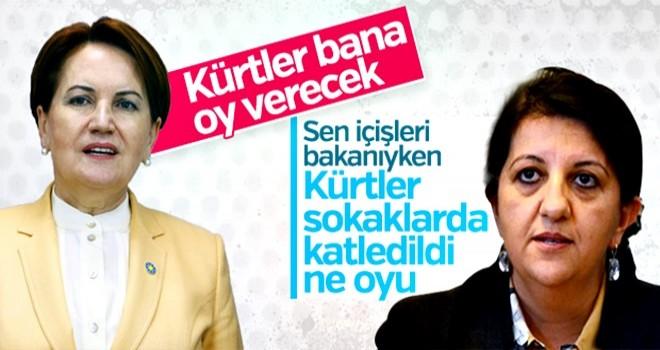 Pervin Buldan'dan Akşener'e: Kürtlerin oyunu alamaz
