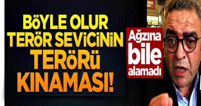 Terör sevici CHP'li Sezgin Tanrıkulu, PKK demeden terörü sözde lanetledi!