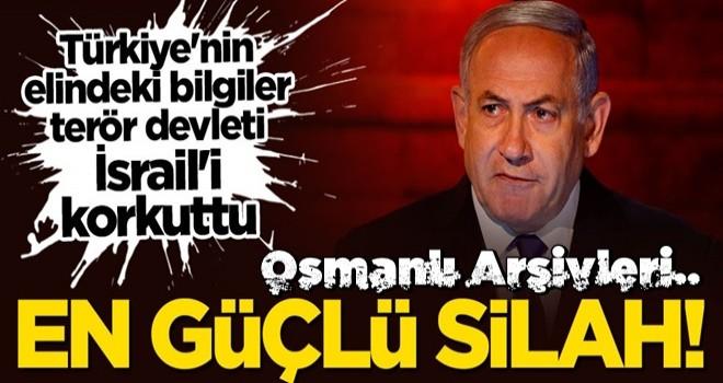 Terör devleti tedirgin! Osmanlı arşivleri Filistinlilerin en güçlü ''silahı''