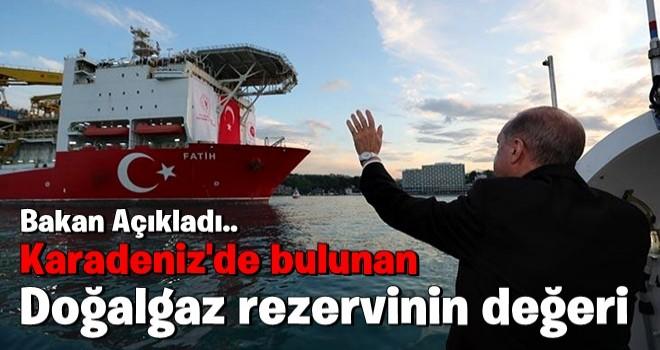 Bakan Dönmez'den flaş açıklama: Karadeniz'de bulunan doğalgaz rezervinin değeri...