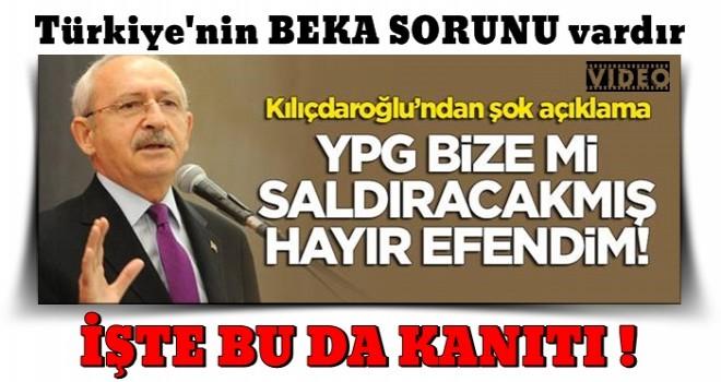Kemal Kılıçdaroğlu'ndan skandal açıklama: ABD'nin desteklediği teröristler bize saldırmaz .