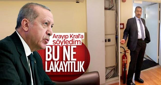 Başkan Erdoğan'dan Kral Selman'a: ''Başkonsolosunuz çok lakayt''